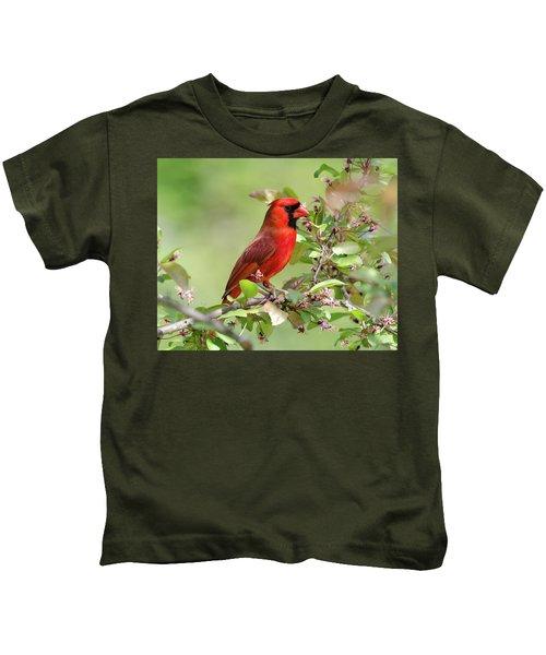 Summer Cardinal Kids T-Shirt