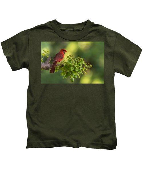 Summer Cardinal New Jersey Kids T-Shirt