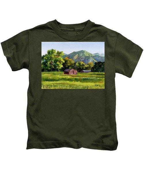 Summer Evening Kids T-Shirt