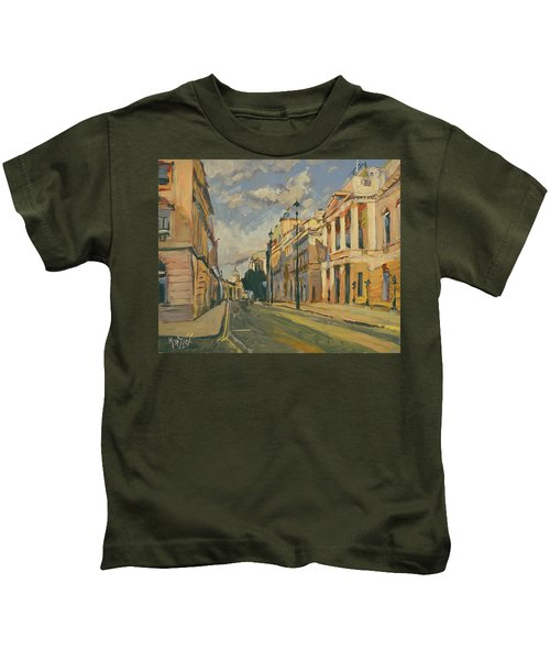Summer Evening Pall Mall London Kids T-Shirt