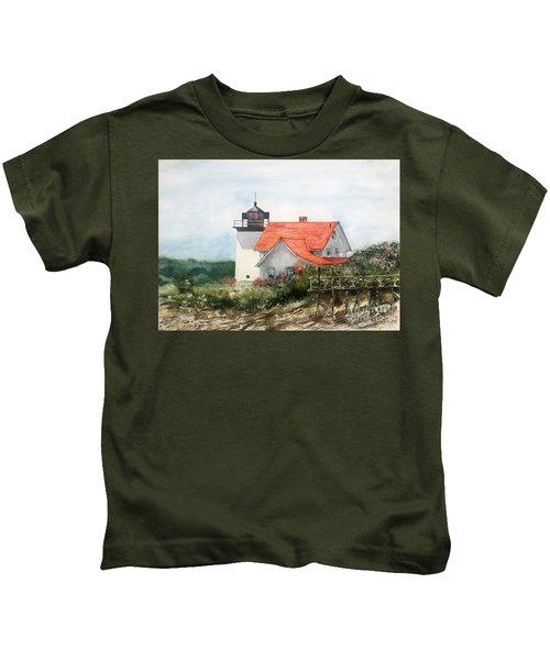 Summer In Maine Kids T-Shirt