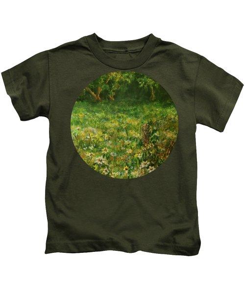 Summer Meadow Kids T-Shirt