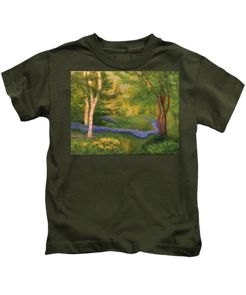 Summer On Orcas Island Kids T-Shirt