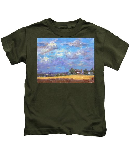 Sun And Clouds Georgetown  Kids T-Shirt