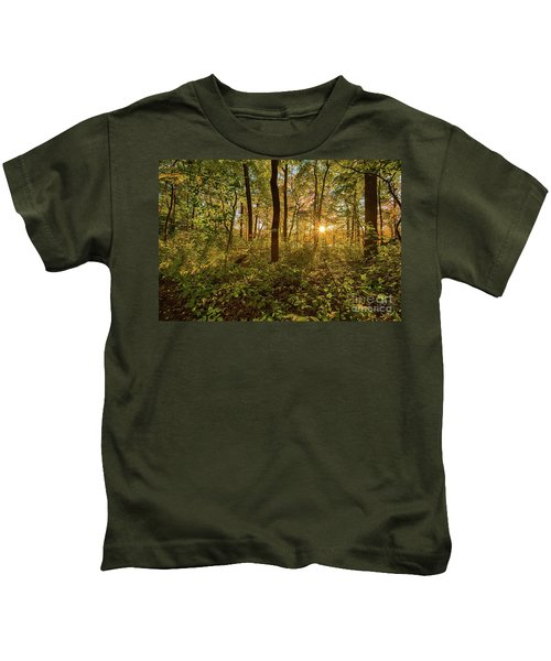Sun Burst  Kids T-Shirt
