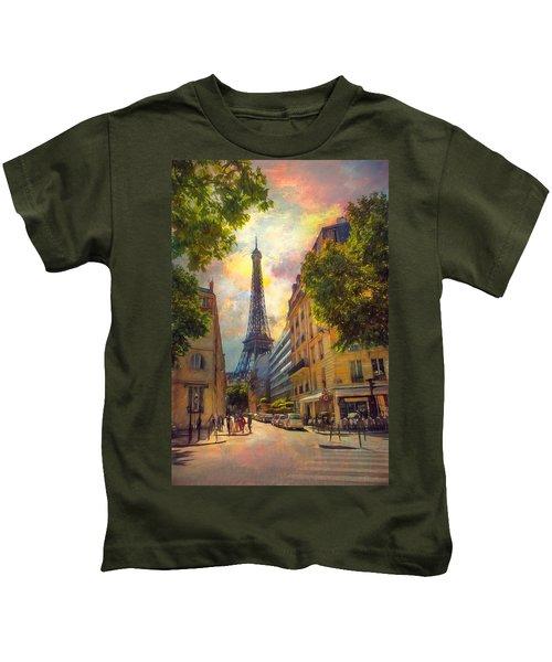 Sun Setting Kids T-Shirt