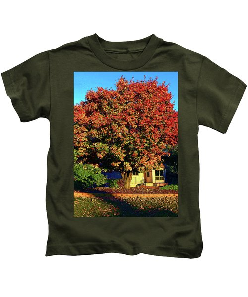 Sun-shining Autumn Kids T-Shirt