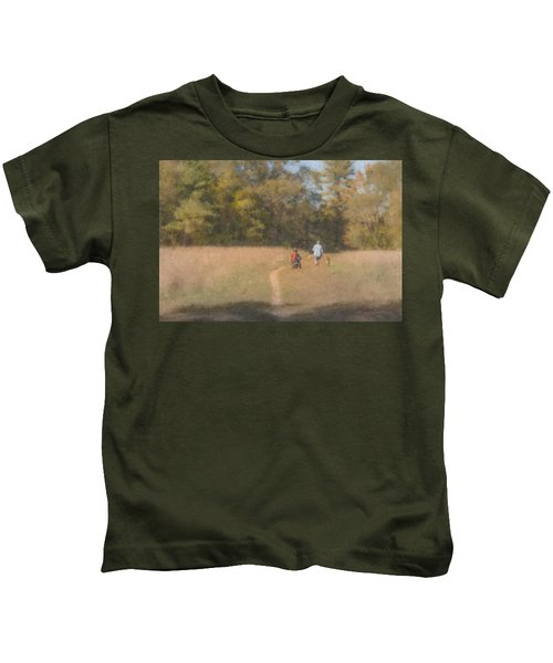 Sunday Afternoon Walk Kids T-Shirt