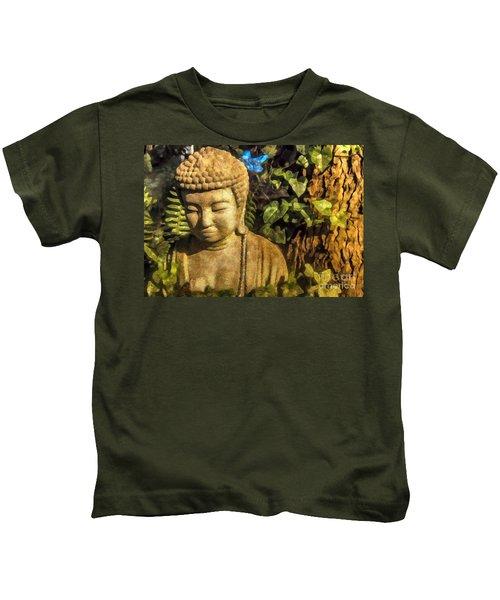 Sunlit Buddha 2015 Kids T-Shirt