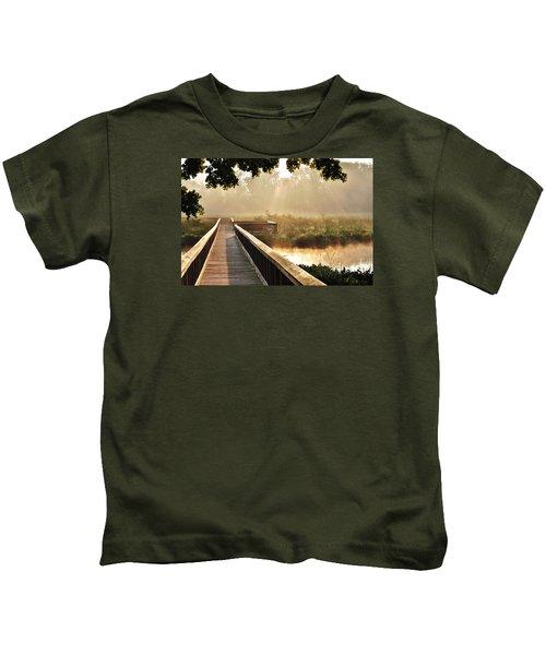 Sunny Walk Kids T-Shirt