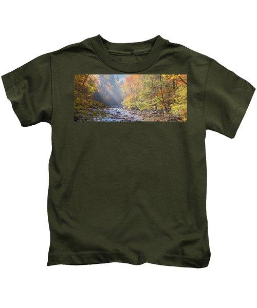 Sunrise At Metcalf Bottoms Kids T-Shirt