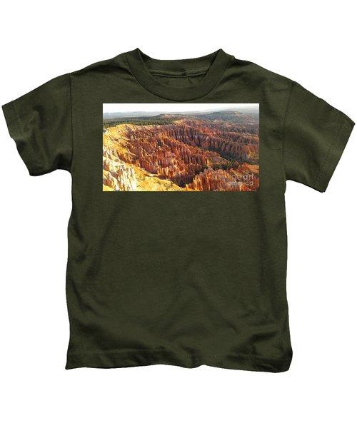 Sunrise In The Canyon Kids T-Shirt