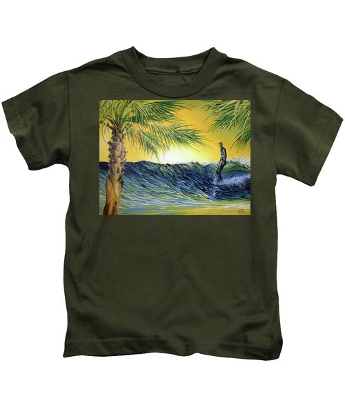 Sunrise Nose Ride Kids T-Shirt