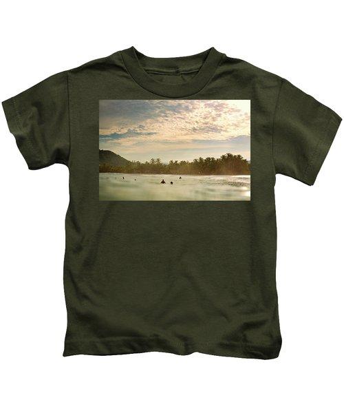Sunrise Surfers Kids T-Shirt