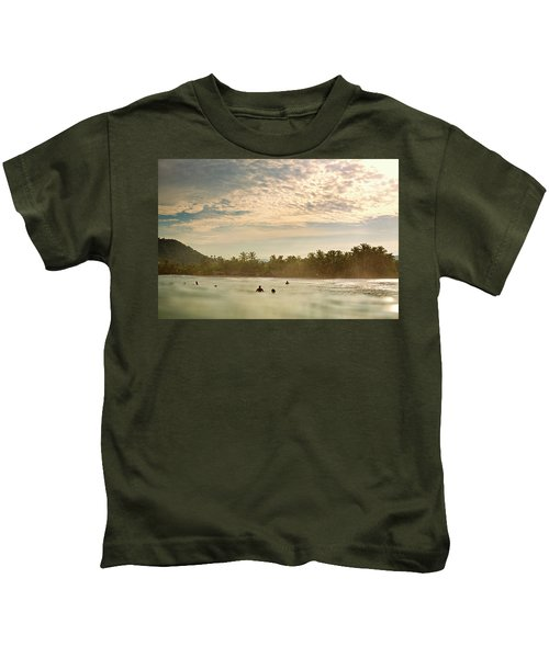 Sunrise Surfers Kids T-Shirt