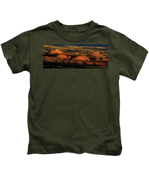 Sunset At Donkey Flats Kids T-Shirt