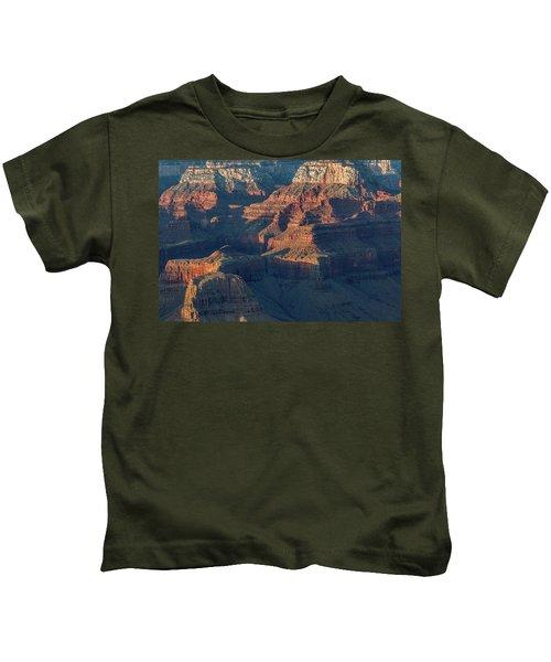 Sunset At The South Rim, Grand Canyon Kids T-Shirt
