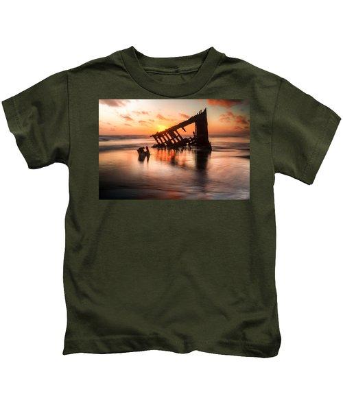 Sunset Glow 0016 Kids T-Shirt