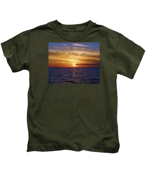 Sunset In Sw Florida Kids T-Shirt