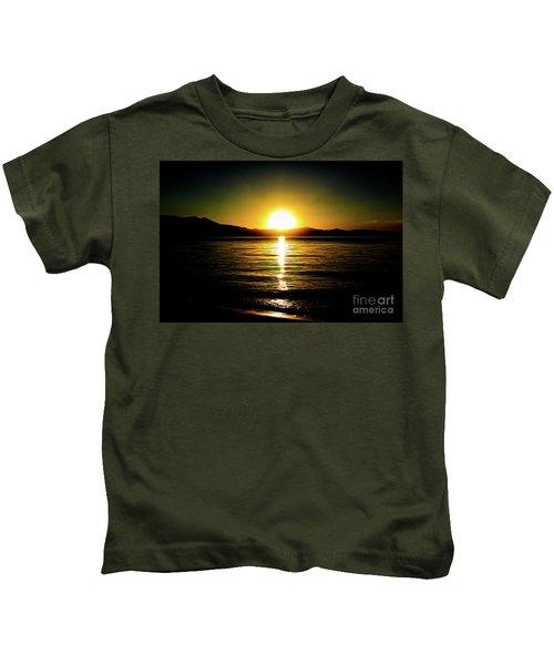 Sunset Lake 2 Kids T-Shirt