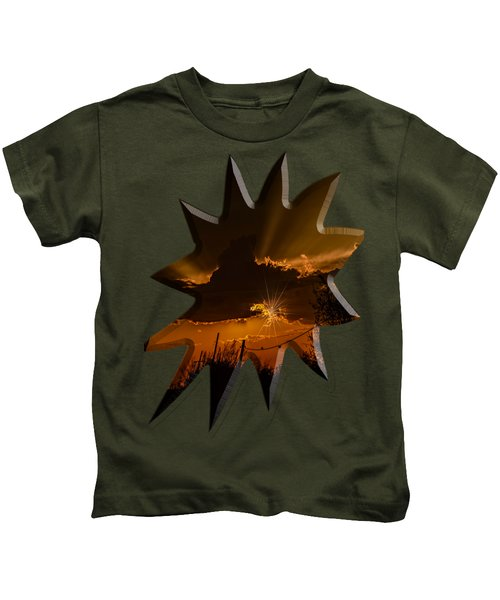 Sunset No.07 Kids T-Shirt