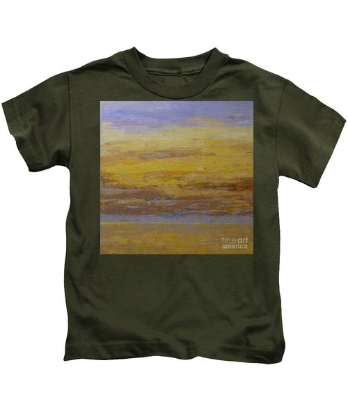 Sunset Storm Clouds Kids T-Shirt
