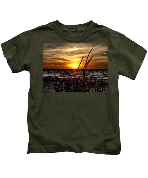 Sunset Walk Kids T-Shirt