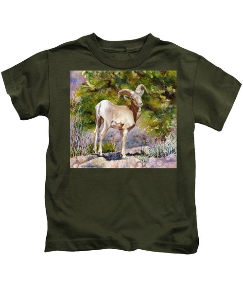 Surprised On The Trail Kids T-Shirt