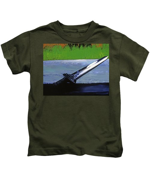Sword Of Protection  Kids T-Shirt