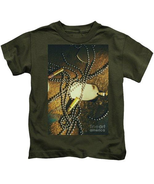 Tagging The Fallen Kids T-Shirt