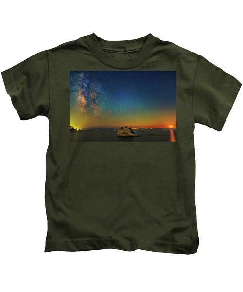 Tahoe Nights Kids T-Shirt