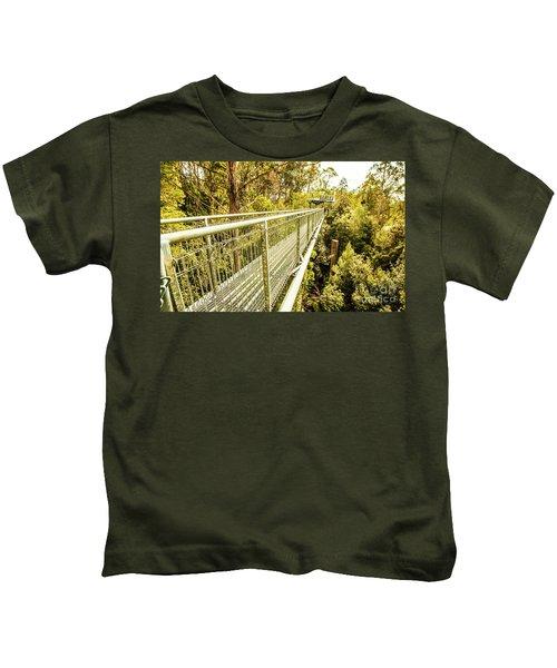 Tahune Airwalk Tasmania Kids T-Shirt