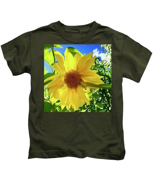 Tangled Sunflower Kids T-Shirt