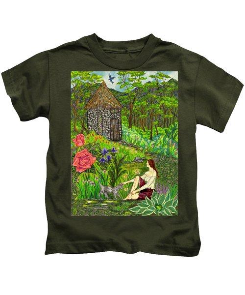Tansel's Garden Kids T-Shirt