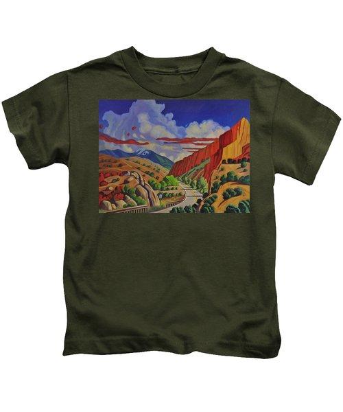 Taos Gorge Journey Kids T-Shirt