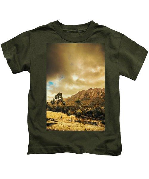 Tasmania Mountain Marvels Kids T-Shirt