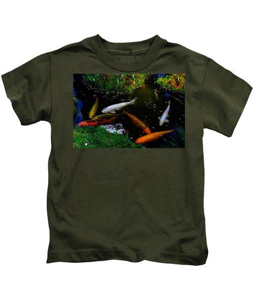 Tea Garden Koi 2 Kids T-Shirt