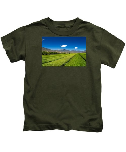 Tea In The Valley Kids T-Shirt