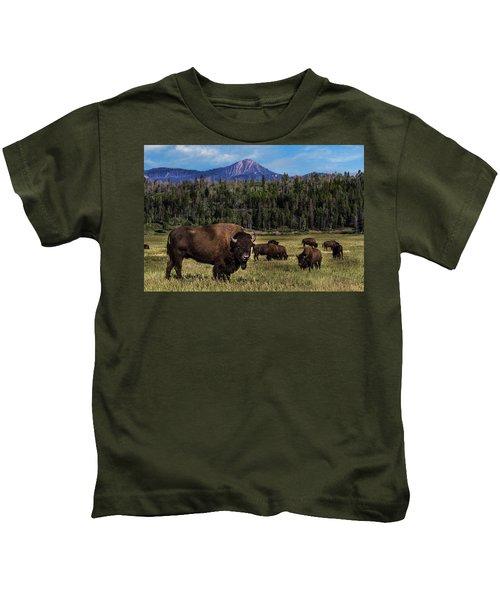 Tending The Herd Kids T-Shirt