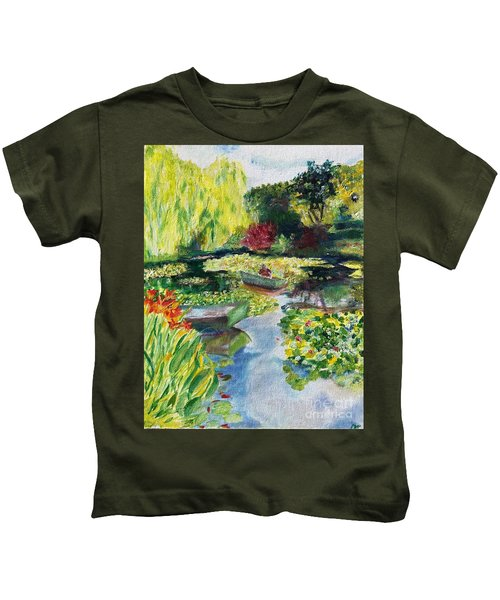 Tending The Pond Kids T-Shirt