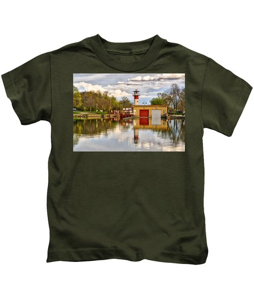 Tenney Lock - Madison - Wisconsin Kids T-Shirt