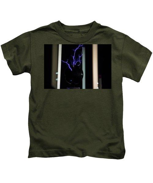 Tesla Coil 2 Kids T-Shirt