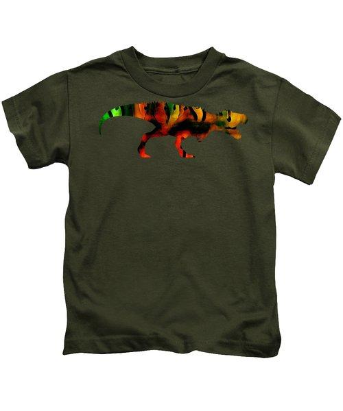 Tex The T-rex  Kids T-Shirt