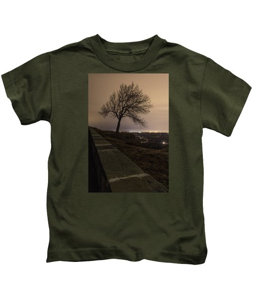 Thacher Park Twilight Kids T-Shirt