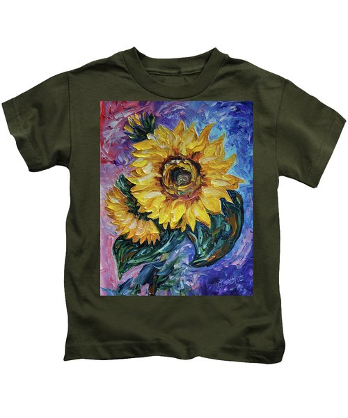 That Sunflower From The Sunflower State Kids T-Shirt