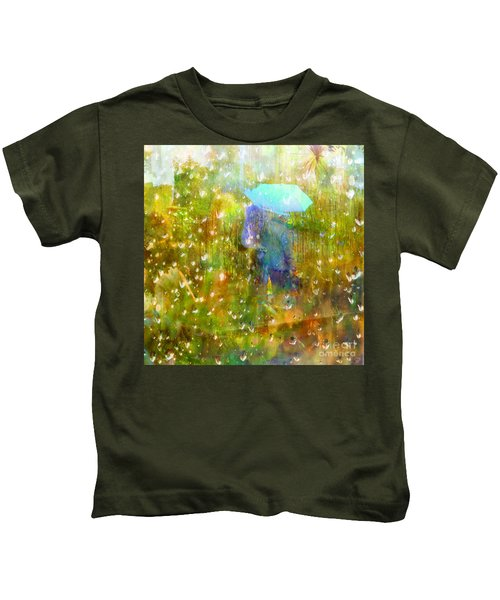 The Approach Of Autumn Kids T-Shirt