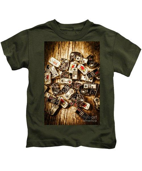 The Art Of Antique Games Kids T-Shirt