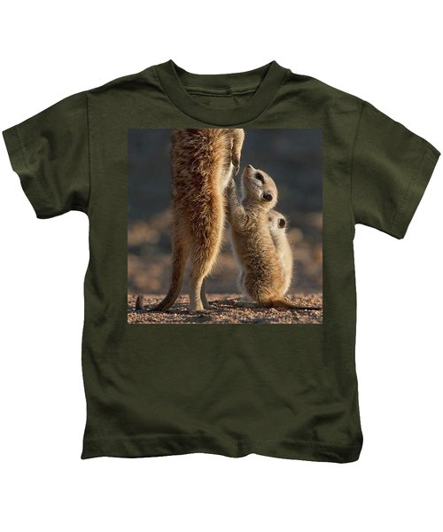 The Baby Is Hungry Kids T-Shirt