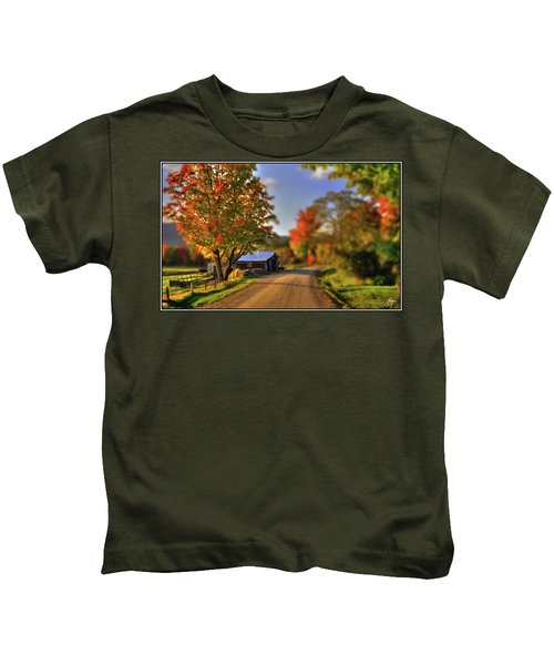 The Barn At The Bend Kids T-Shirt