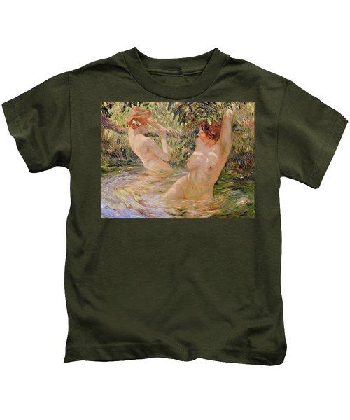 The Bathers Kids T-Shirt